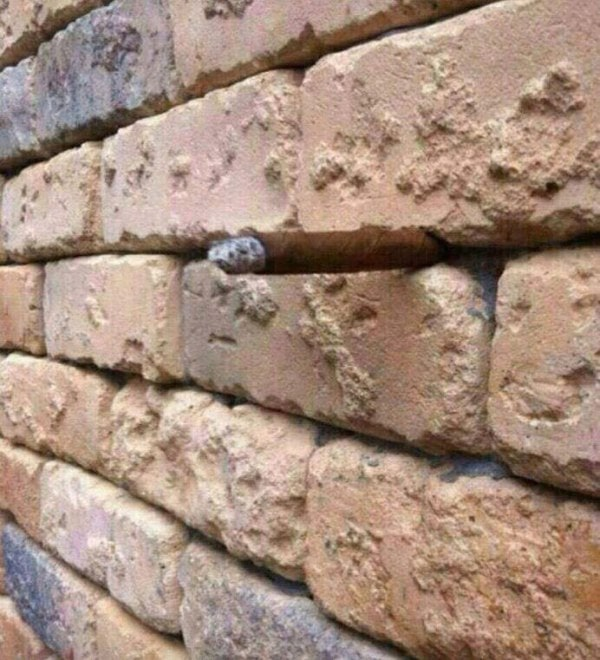 brick wall illusion