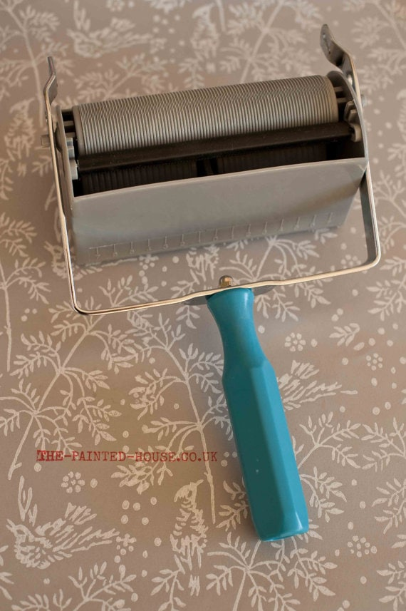 Patterned Paint Roller forget wallpaper! these patterned paint rollers are awesome