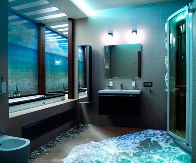These 3D Bathroom Floor Designs Are So Insanely Awesome They Almost Look  Real