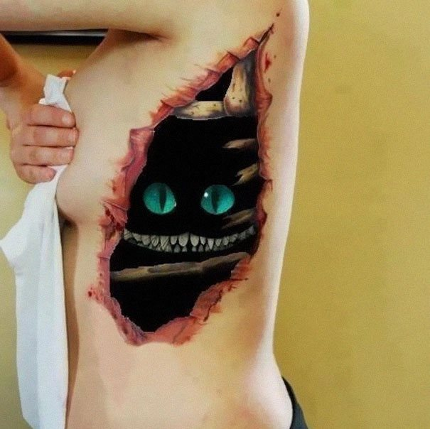 25 Mind Bending 3d Tattoos That Look Absolutely Insane