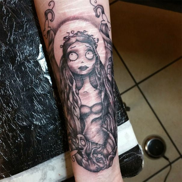 15 scar cover up tattoos turned into works of art for Scars turned into tattoos