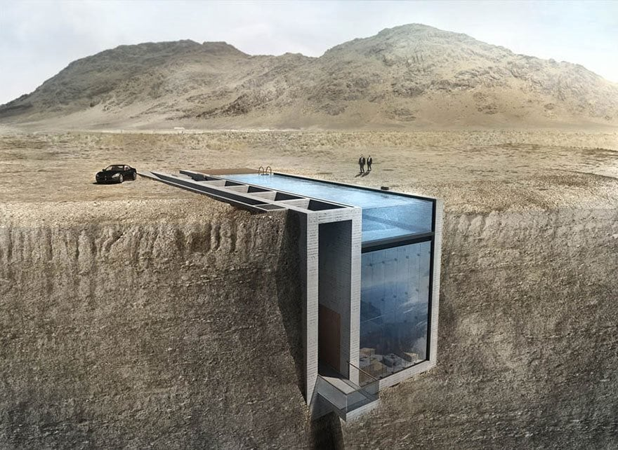 This Awesome House Hidden In A Cliff Is Exactly Where I Want To Live
