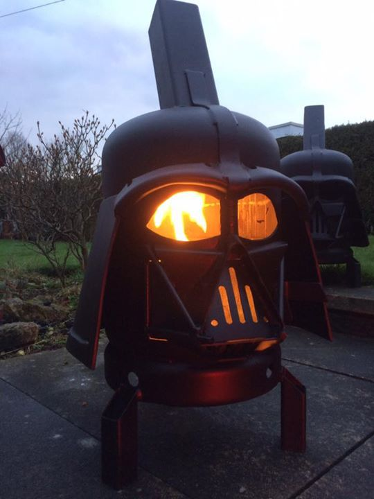 this badass darth vader grill will let you cookout with the dark side. Black Bedroom Furniture Sets. Home Design Ideas