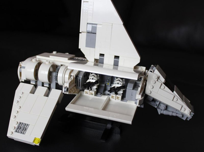 Amazing LEGO Star Destroyer That Has A Three-Level Interior