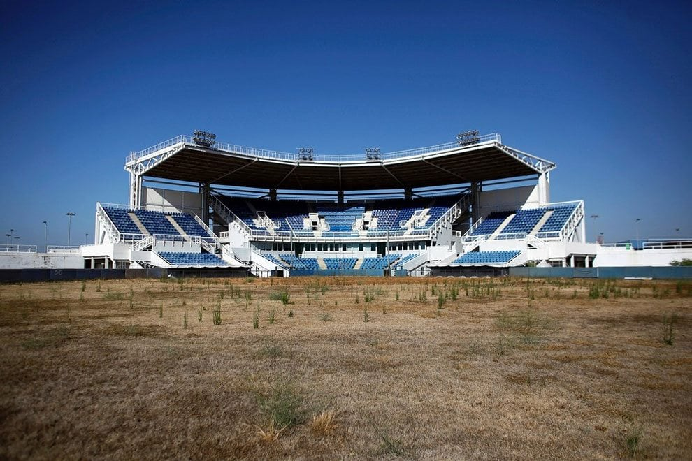 Haunting Photos Of Abandoned Olympic Venues From Around The World - Eerie abandoned olympic venues around the world