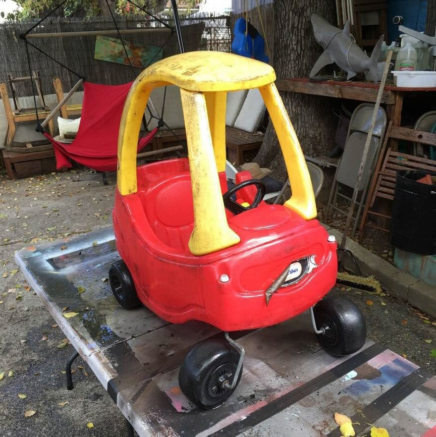 Coolest Dad Ever Turns Kids\' Toy Cars Into Badass \