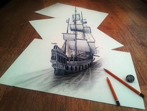 23-While-Sailing-Through-The-Thoughts-Of-My-Imagination-Optical-Illusionism-Ramon-Bruin-www-designstack-co