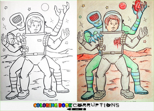 20 Coloring Book Corruptions That Will Ruin Your Childhood