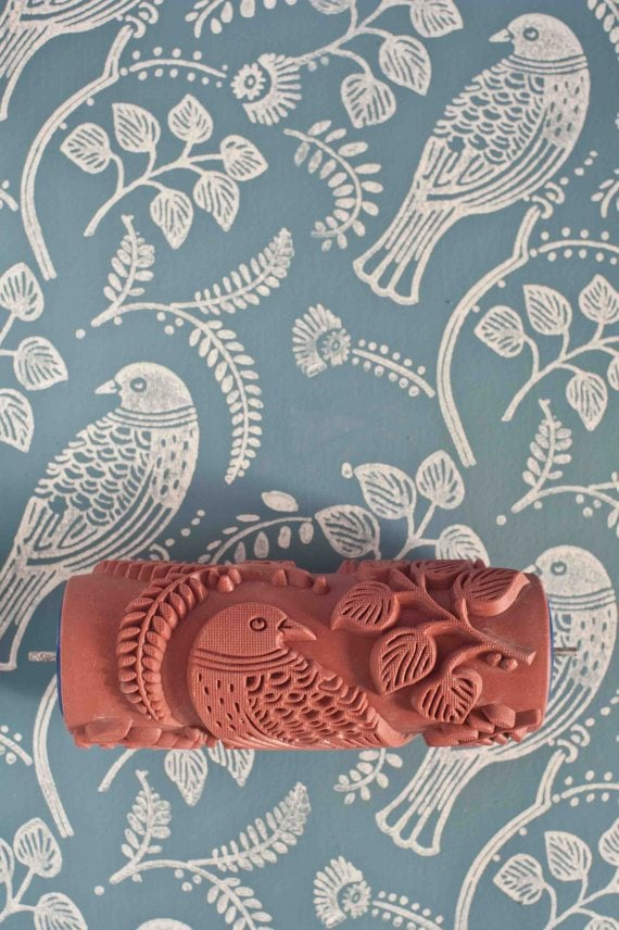 Forget Wallpaper These Patterned Paint Rollers Are Awesome