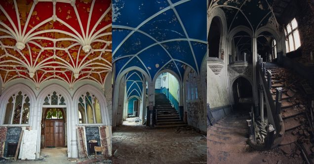 11 of the Most Fascinating Abandoned Mansions from Around