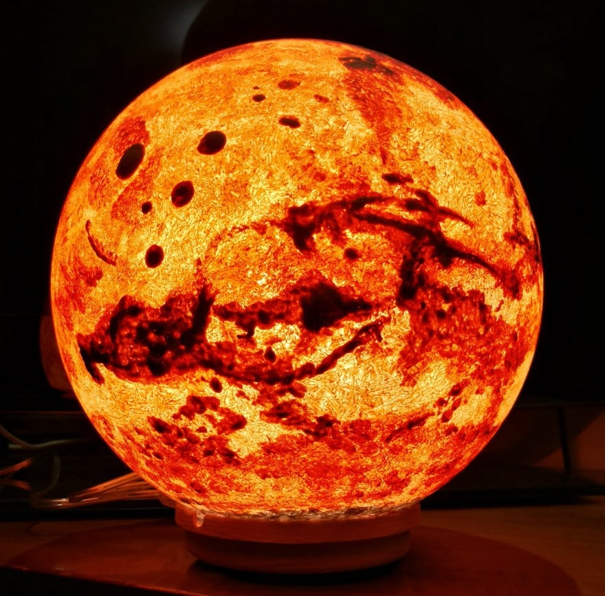 Awesome Moon And Planet Lamps Brings The Solar System Into