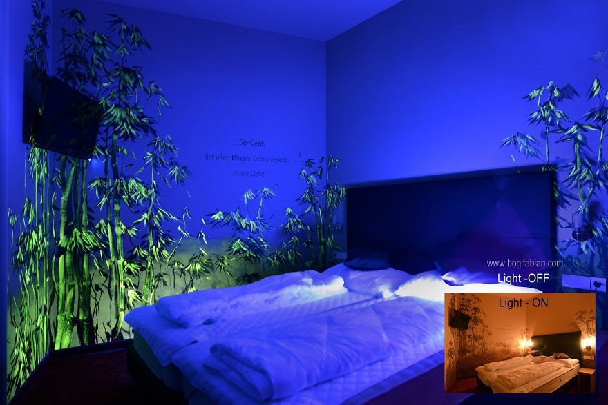 These Wall Murals Turn Your Bedroom Into Magical Worlds When Your - Bedroom lights off