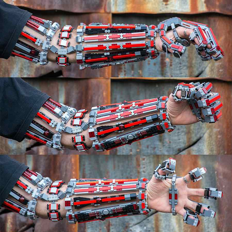 Guy Amazingly Built A Working Lego Exo-Skeleton Arm And It