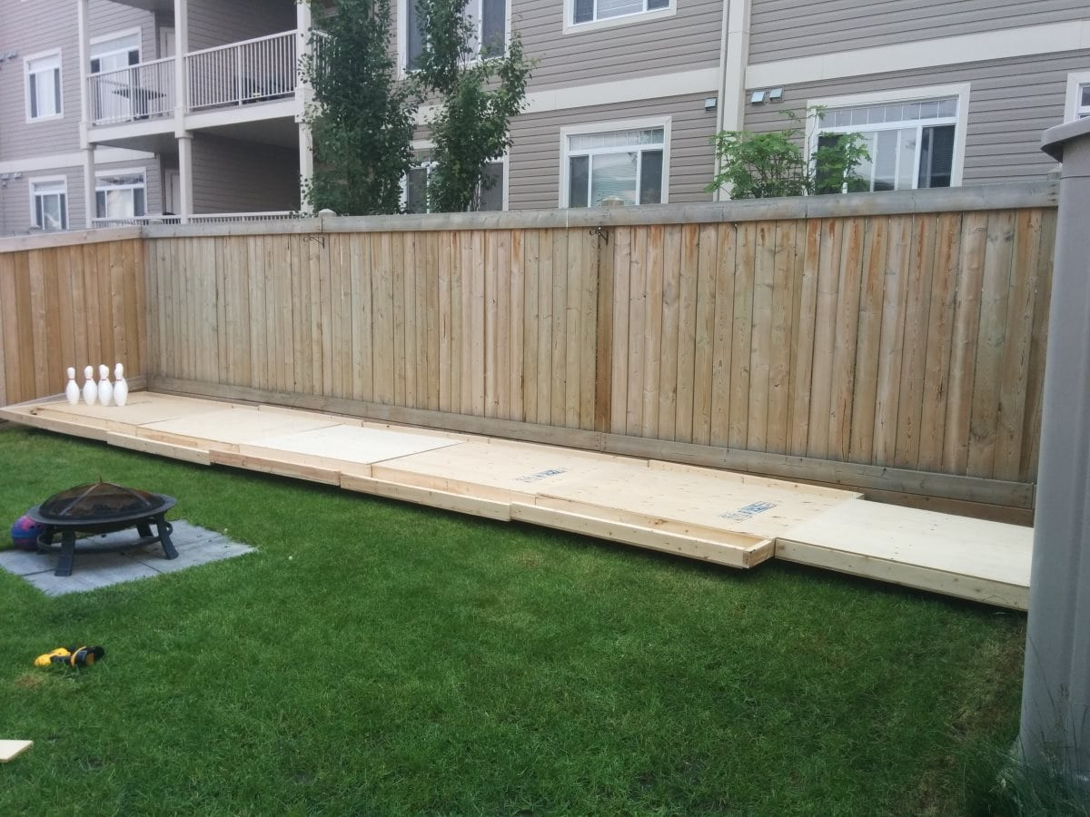 This Guy's DIY Backyard Bowling Alley Is Pretty Much The ...