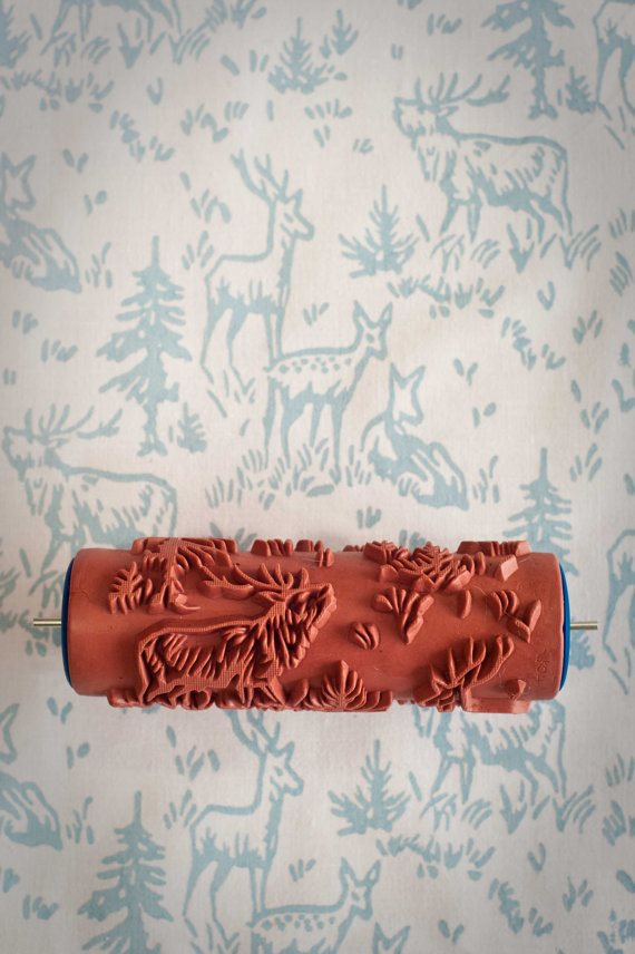 6 Patterned Paint Roller