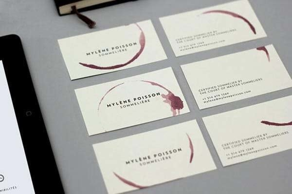 29 cool business cards youd never want to throw away a mini yoga mat card for a yoga studio reheart Choice Image