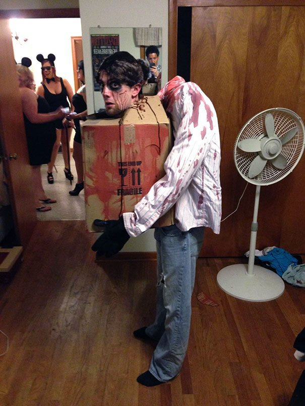The most creative halloween costume ideas ever 8 head in a box solutioingenieria Choice Image