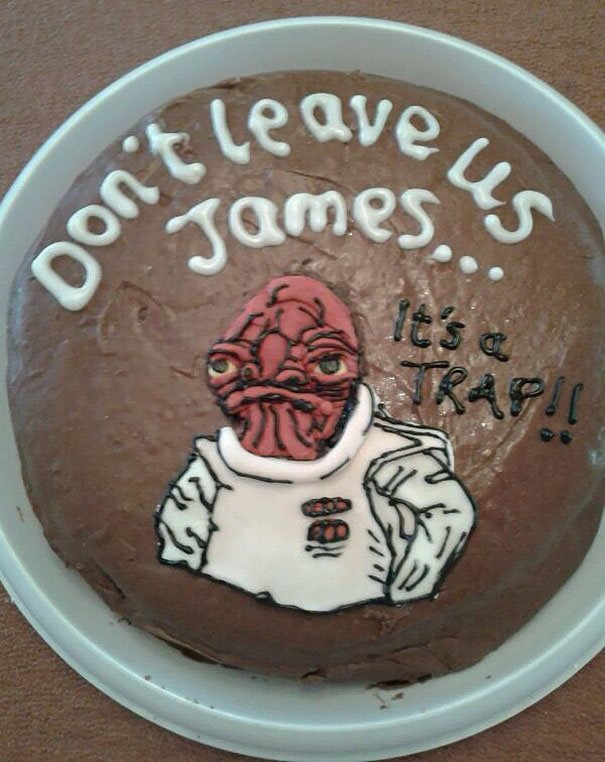 30 Of The Funniest Farewell Cakes Youll Ever See