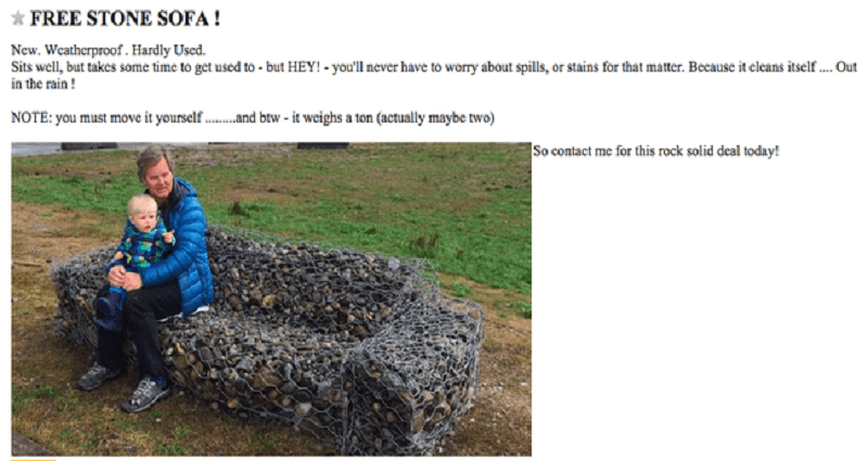 25 Of The Most Hilarious Best Of Craigslist Ads Ever Posted