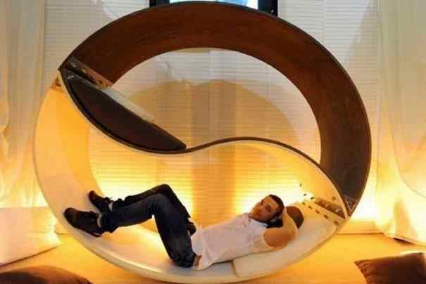Curved pet beds