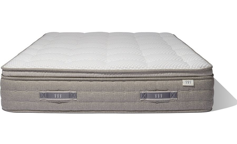 the brentwood mirador is a combination of innerspring mattress and a natural latex mattress to offer maximum support and comfort - Brentwood Mattress
