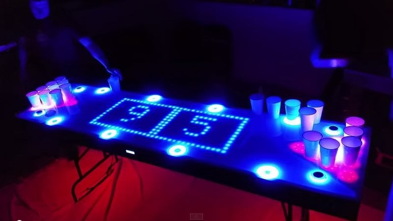 This Amazing Interactive Beer Pong Table Is The Diy Project We 39 Ve All Waited For