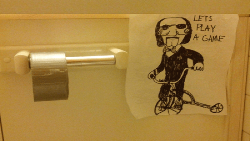 27 Hilariously Evil Bathroom Pranks That Are Seriously ...