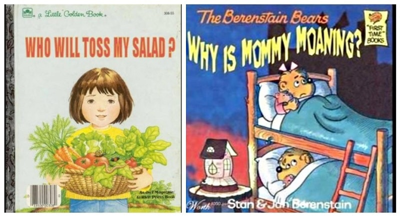 17 Unintentionally Inappropriate Children S Book Titles That Are