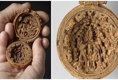 Amazing boxwood carvings from the th century