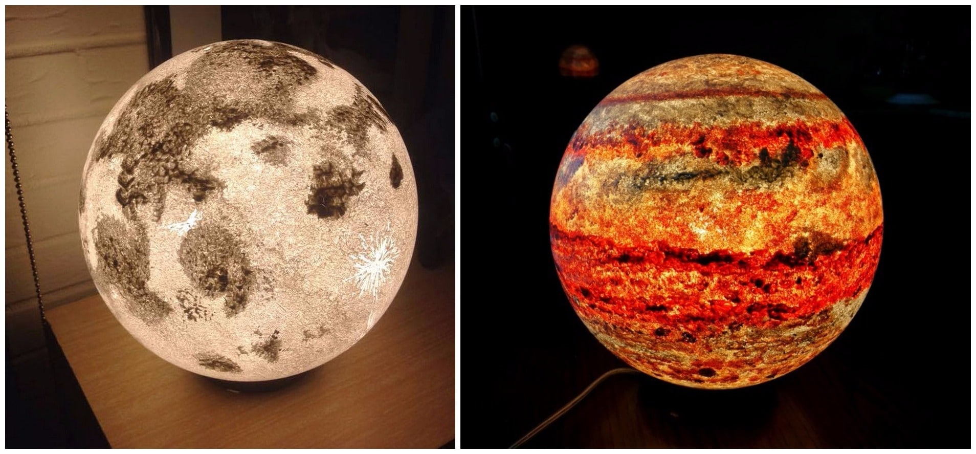 Awesome Moon And Planet Lamps Brings The Solar System Into ...