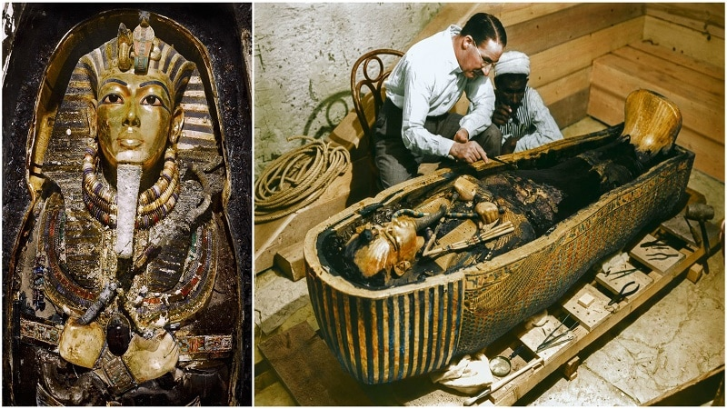 King Tut Tomb Discovery: Incredible Photos Of King Tut's Tomb Discovery Seen In Color
