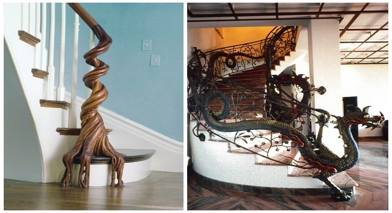 These Insanely Creative Stair Railings Look So Beautiful