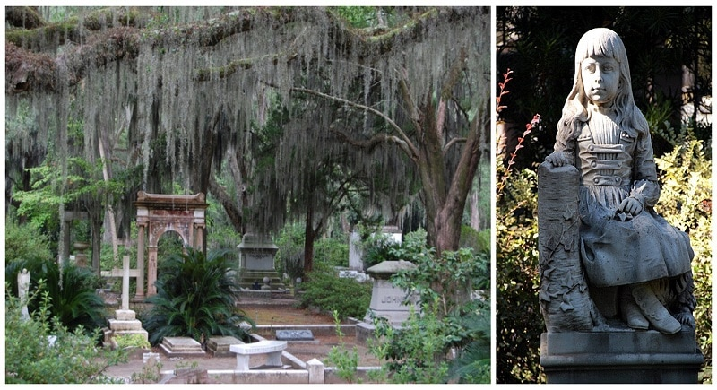 The Haunted Bonaventure Cemetery And The Tale Of Little Gracie