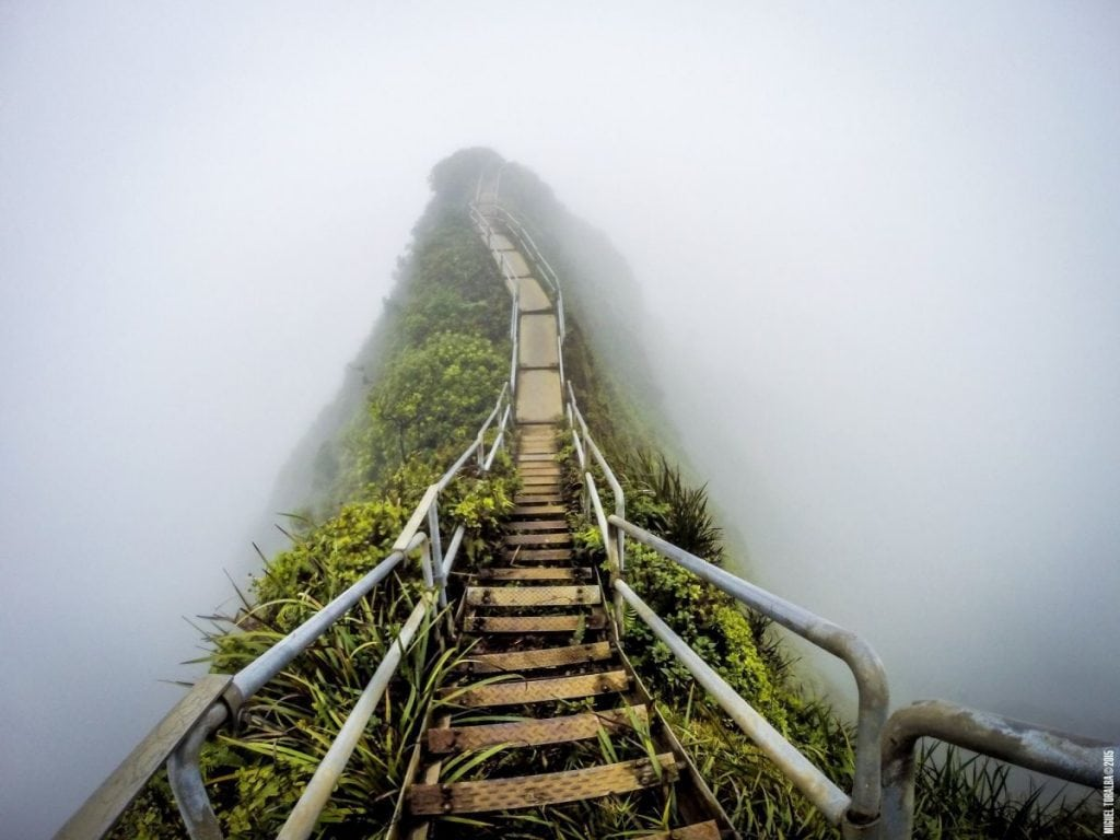The Illegal Haiku Stairs A K A Stairway To Heaven In Hawaii