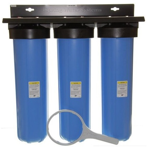 ispring 3stage big blue filter - Whole House Water Filtration System