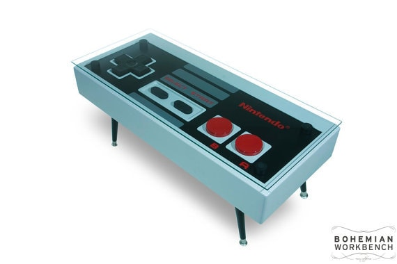 This Awesome Coffee Table Is A Giant Nintendo Controller That