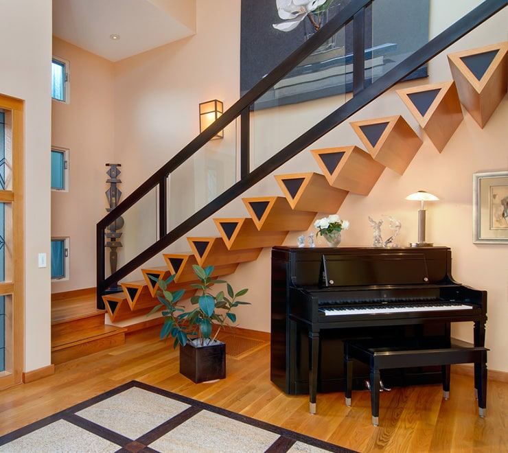 51 Stunning Staircase Design Ideas: These Insanely Creative Stair Railings Look So Beautiful