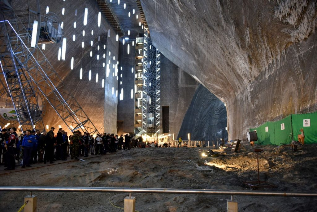 Salina Turda Theme Park Located 400 Feet Underground