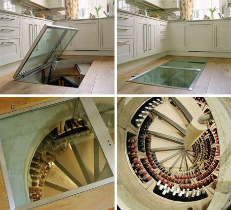 Hereu0027s how it works & This Underground Spiral Wine Cellar Is Like A Secret Hideaway For ...