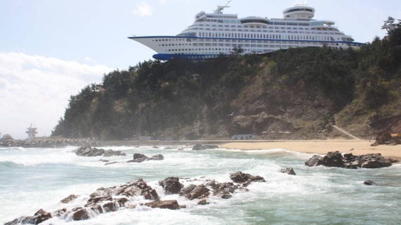 This Is The World's First Cruise Ship Hotel, And It's ...