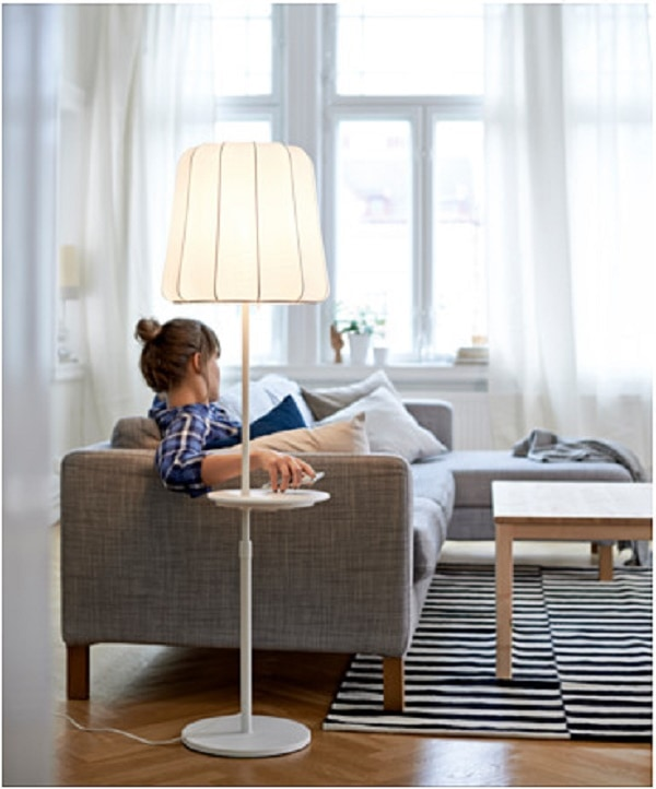 Varv floor lamp with wireless charging 0371029 ph124169 s4 can you actually - Phone charging furniture the future in your home ...